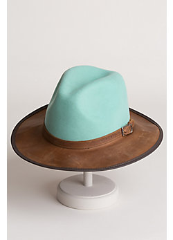 Summit Felt and Leather Hat