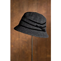 """Women's Skylar Wool Hat, Charcoal (23"""" Circumference) Western & Country"""
