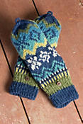 Women's Nordic Convertible Wool Mittens