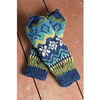 Women's Nordic Convertible Wool Mittens Western & Country