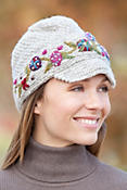 Women's Brigid Handmade Wool Hat