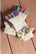 Women's Brigid Fingerless Wool Glove