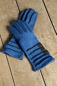 Women's Isabella Boiled Wool Gloves