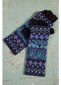 Women's Eloise Handmade Wool-Blend Convertible Mittens