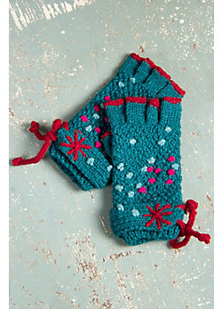 Women's Suraya Fingerless Wool Gloves