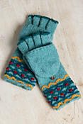 Women's Chanda Handmade Wool Convertible Mittens