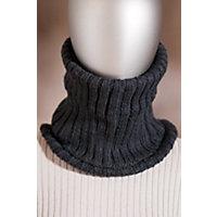Women's Handmade Wool Neckwarmer, Black Western & Country