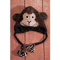 Children'S Cheetah Wool-Blend Monkey Hat Western & Country