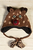 Children's Deer Handmade Wool Hat