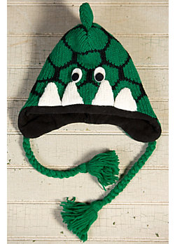 Children's Dinosaur Handmade Wool Hat