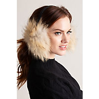Finnish Raccoon Fur Earmuffs