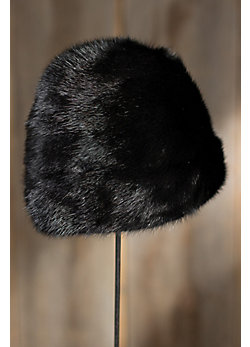 Women's Cossack Danish Mink Fur Hat