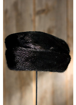 Women's Mink Fur Cloche Hat