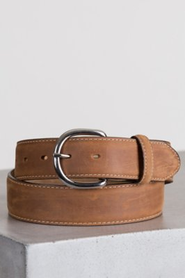 Classic Western Leather Belt