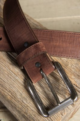 Bomber Leather Belt