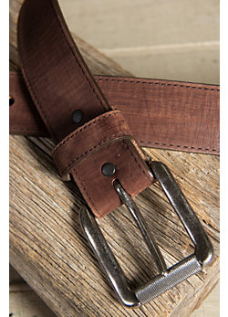 Men's Bomber Leather Belt