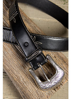 Men's Justin Casual Leather Belt