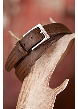 Men's Toledo Lizard Leather Belt
