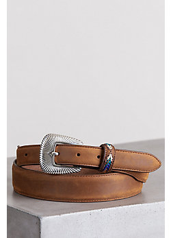 Bark DeColores Leather Belt