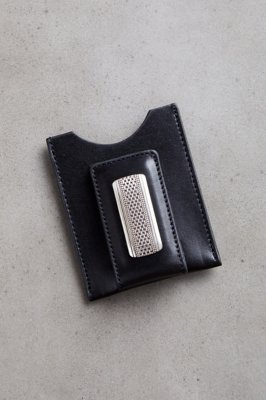 Salina Leather Money Clip