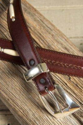 Toronto Taper Leather Belt