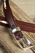 Toronto Taper Leather Belt