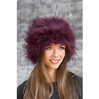 2 in 1 Fox Fur Headband or Neck Warmer