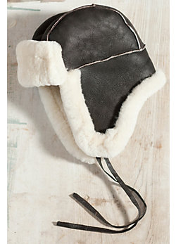 Classic Sheepskin Aviator Hat