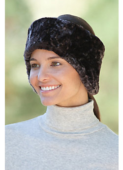 Women's Shearling Sheepskin Headband