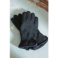 Women's Weekender 'Cire' Suede Gloves, Black, Size Medium (7 -7.5) Western & Country