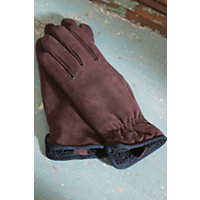 Women's Weekender 'Cire' Suede Gloves, Brown, Size Medium (7 - 7.5) Western & Country