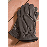 """Men's Agent Leather Gloves With Waterblock Palms, Black, Size Xxlarge (11.5-12"""") Western & Country"""