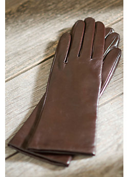 Women's Melody Leather Gloves with Cashmere Lining