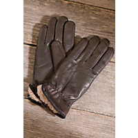 Women's Weekender II Leather Gloves, BROWN, Size MEDIUM  (7 - 7 1/2)