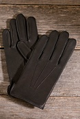 Mens' Unlined Deerskin Roper Gloves