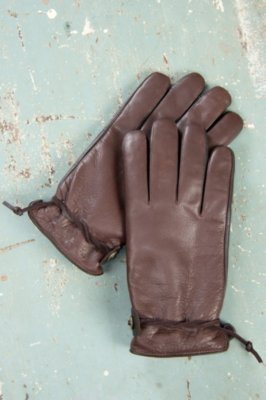 Mens Crazy Horse Buffalo Leather Gloves