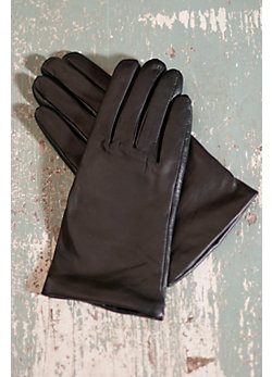 Women's Selene Touchtec Leather Texting Gloves with Cashmere Lining