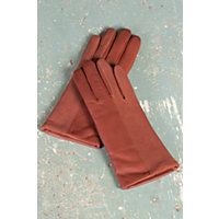 Women's Ingenious Lambskin Leather And Suede Gloves, Copper, Size Xlarge (8) Western & Country