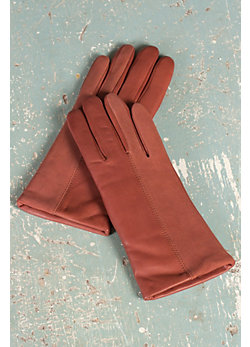 Women's Ingenious Lambskin Leather and Suede Gloves