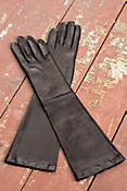 Women's Beauty Elbow-Length Leather Gloves