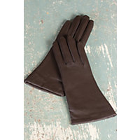 Women's Melody Sensor Touch Lambskin Leather Gloves, Chocolate, Size 7.5 Western & Country