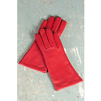 Women's Melody Sensor Touch Lambskin Leather Gloves, True Red, Size 7.5 Western & Country