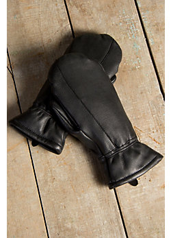 Men's Sioux Deerskin Leather Finger Mittens