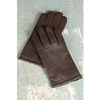 Men's Mercedes Sensor Touch Lambskin Leather Gloves, Brown, Size Xlarge (10.5-11) Western & Country