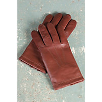 Men's Mercedes Sensor Touch Lambskin Leather Gloves, Copper, Size Large (9.5-10) Western & Country