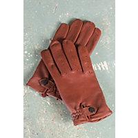 Men's Ferrari Sensor Touch Lambskin Leather Gloves, Copper, Size Medium (8.5-9) Western & Country