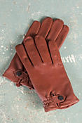 Men's Ferrari Sensor Touch Lambskin Leather Gloves