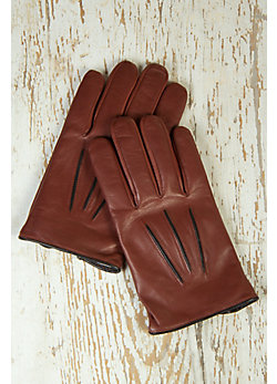 Men's Presto Lambskin Leather Gloves