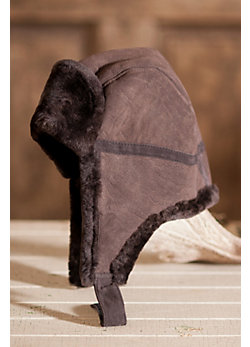 Sheepskin Aviator Hat