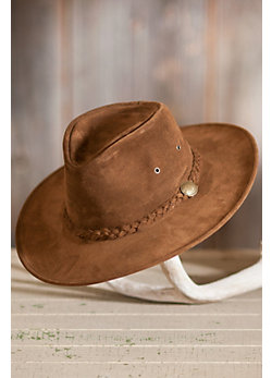 Crushable Weekend Walker Suede Hat